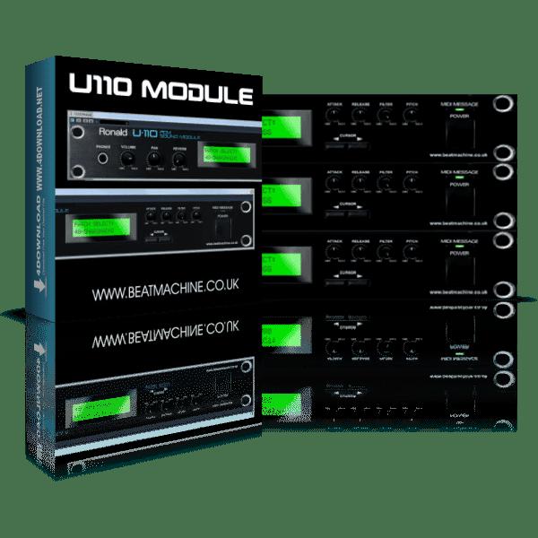Beat Machine Roland U110 Full version