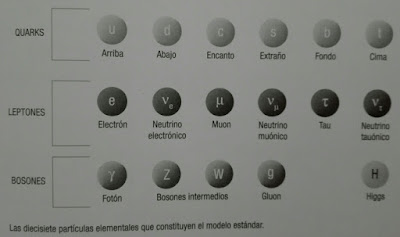 Particulas principales del Modelo Estandar