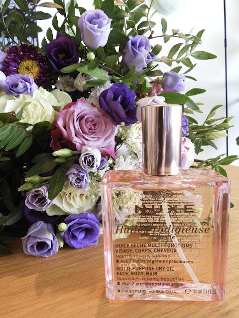 Flacon huile prodigieuse florale Nuxe