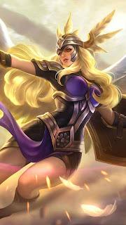 Freya Valkyrie Heroes Fighter of Skins V1