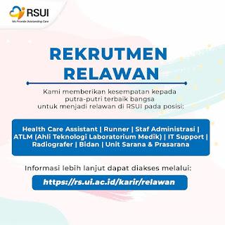 Rekrutmen Relawan RSUI Batch 5