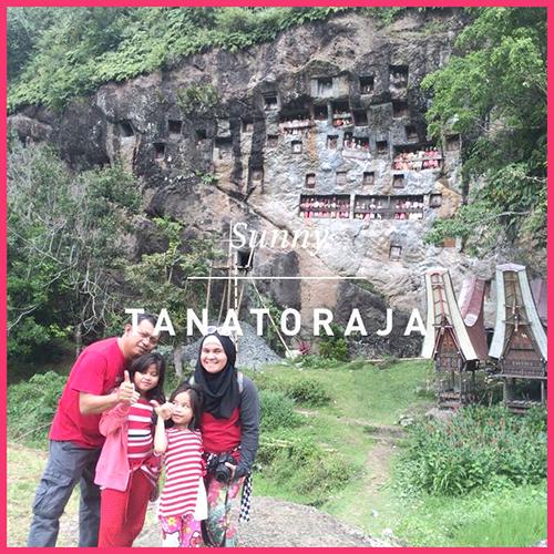 Jalan jalan ke Toraja bersama anak-anak,dewizul,zulfiyan
