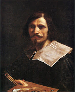 Guercino - a self-portrait from about 1624-26,  which is part of a private collection