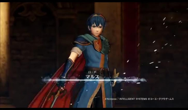 First Screenshot from Fire Emblem Heros' fourth intro