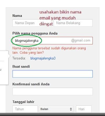 cara mudah bikin akun gmail ala blog majalengka