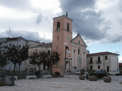 The church some of my ancestors attended in Sant'Angelo a Cupolo, Italy.