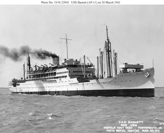 30 March 1941 worldwartwo.filminspector.com USS Barnett