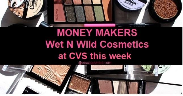 MONEY MAKER Wet N Wild CVS Deals - 8/4-8/10