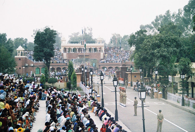 Punjab - To See The Parade on Wagah Border