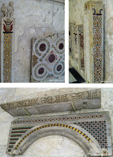 Amalfi: mosaicos da Basílica da Crucificação, do Século 9