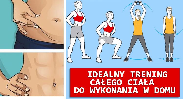 Idealny trening całego ciała do wykonania w domu