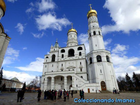 Kremlin de Moscú: Gran Torre de Iván el Grande
