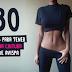 30 días para una cintura que envidiarán las avispas