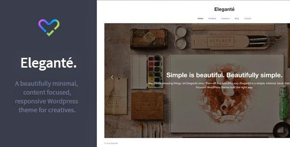 Premium Responsive Portfolio WordPress Theme