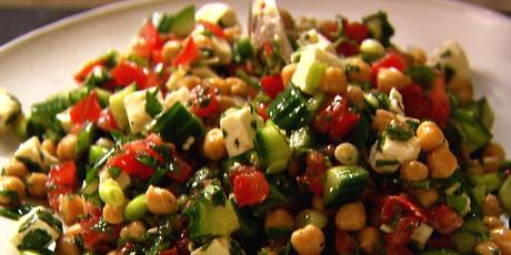 Middle Eastern Vegetable Salad Recipe