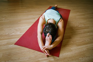 Head towards the knee yoga
