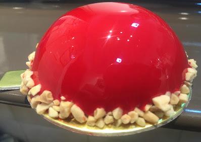 Glaseado rojo para decorar tartas