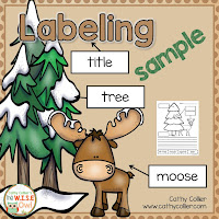 Labeling is an easy way to get early writers to write! Students can label pictures, then write about their labels.