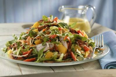 ★★★★★ | Mango vinaigrette salad