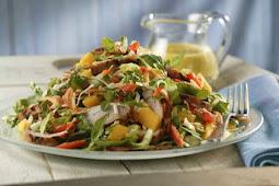 ★★★★★   Mango vinaigrette salad