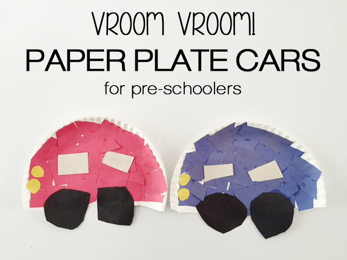 I had found some paper plate crafts on Pinterest and showed Noah the finished product. He was so excited to do it and immediately went to grab the paper ...  sc 1 st  The Adventure Starts Here & The Adventure Starts Here: Vroom Vroom! | Transportation Crafts for ...
