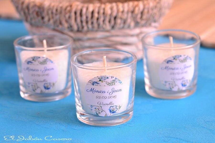 detalles de boda velas perfumadas naturales