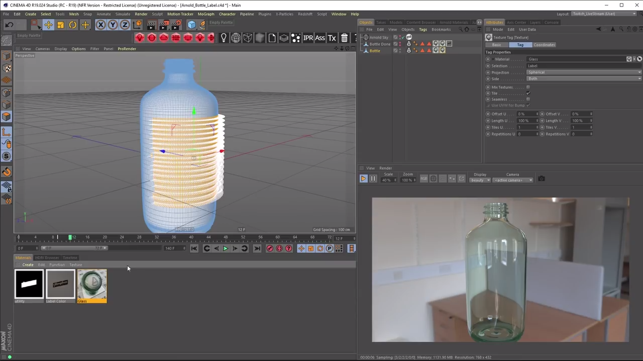 Labeling Objects Swiftly and Easily in Arnold for Cinema 4D  | CG