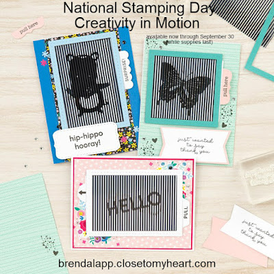 National Stamping Month Creativity in Motion