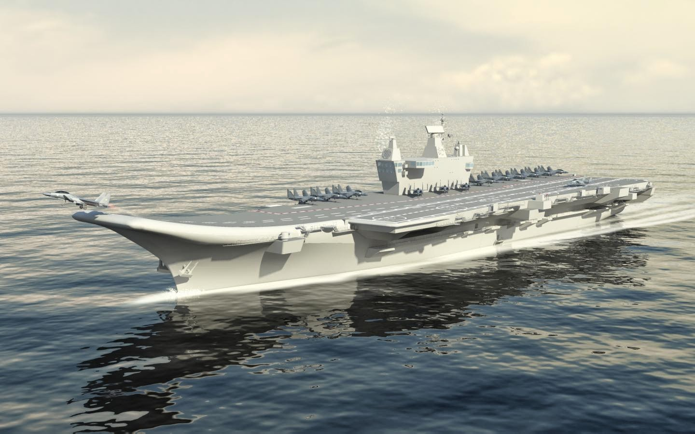 indias second aircraft carrier - HD1440×900