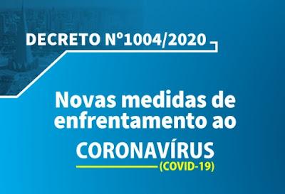 Decreto da Prefeitura de Maringá para covid-19. Café com Jornalista