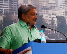 Defence Minister Parrikar reviews search operations for missing aircraft AN-32