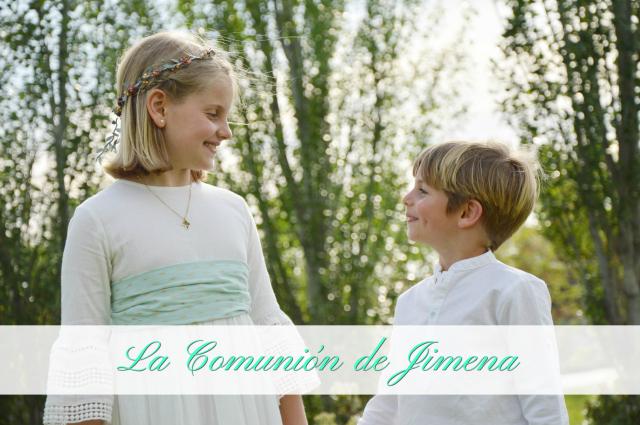 La Comunion de Jimena - Blog La Comunion de Noa
