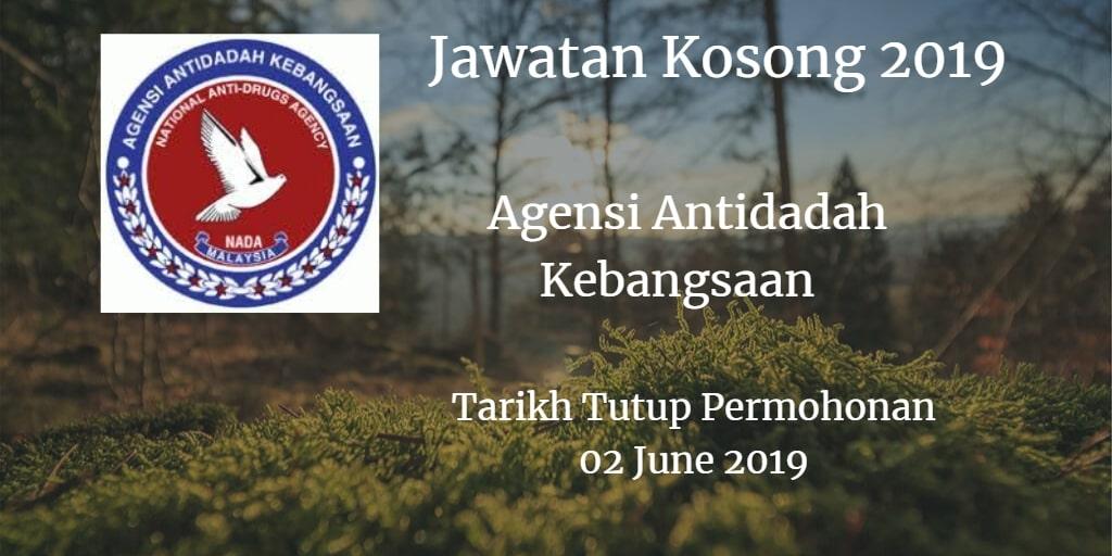 Jawatan Kosong AADK 02 June 2019