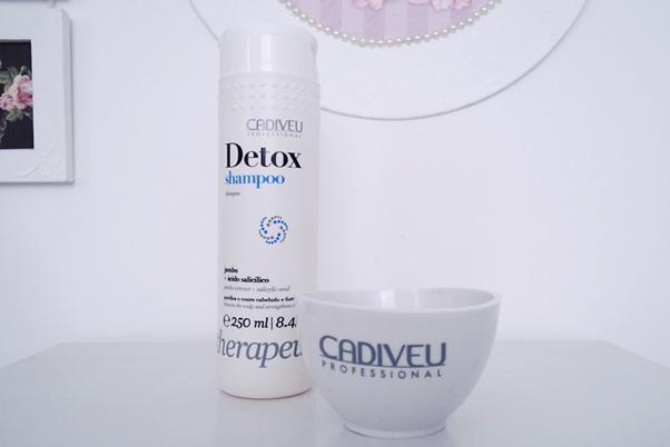 Linha Detox Cadiveu shampoo