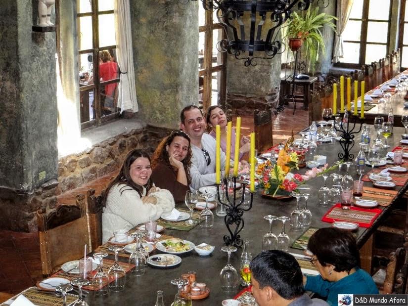 Restaurante em Ollantaytambo - Peru - City tour Vale Sagrado