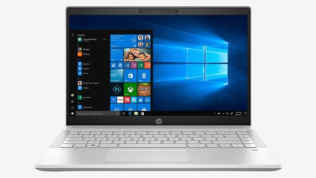HP Pavilion 14 laptop. It is powered by Intel Core i5 processor with NVIDIA MX150 2GB GPU. It gives only the fair performance, but has bad keyboard, touchpad, and a display.