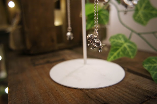 jewellerybox.co.uk dinosaur necklace t-rex jewellery #bloggersfestival