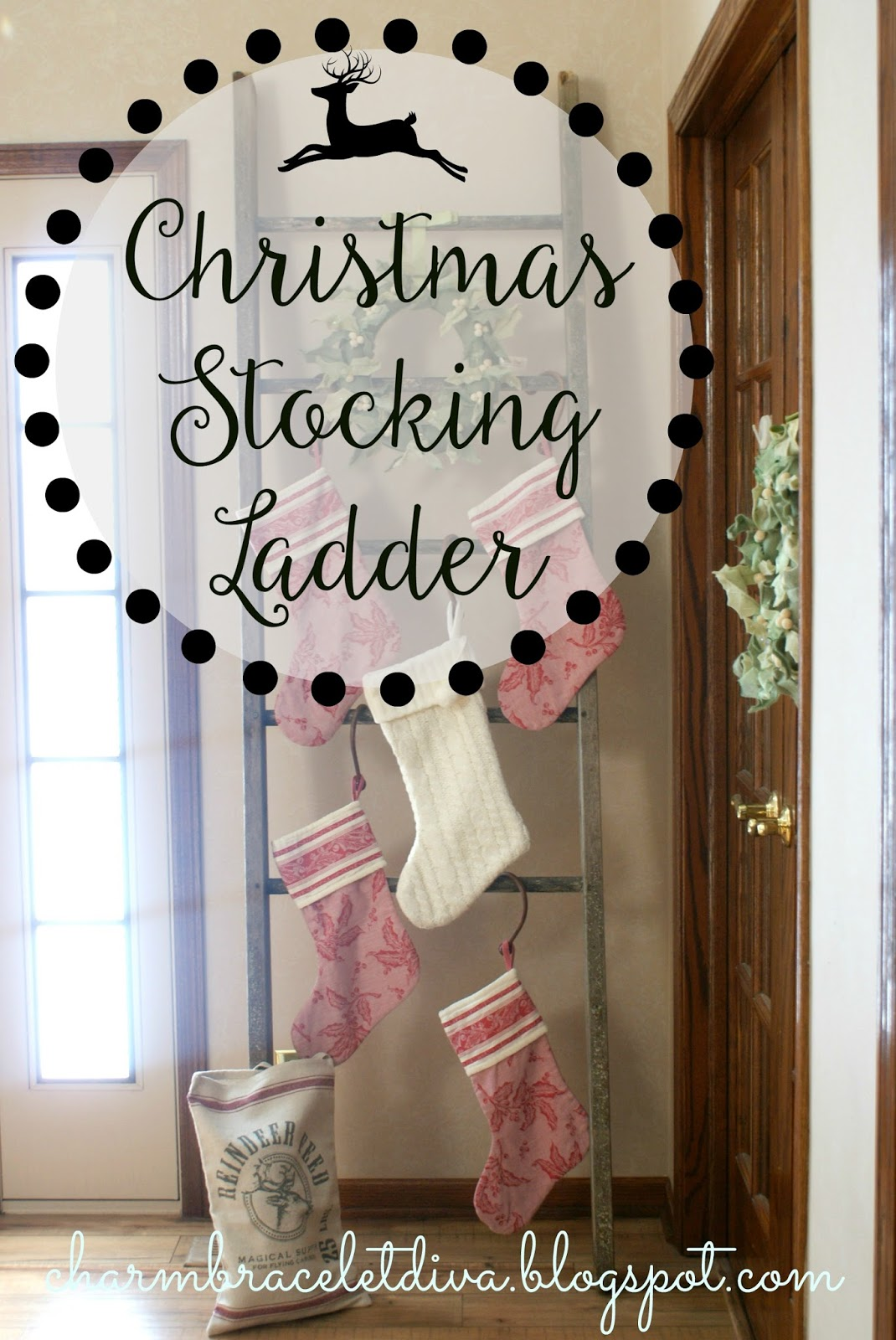 Our Hopeful Home How To Hang Your Christmas Stocking Without A Mantel