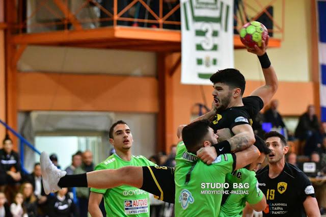 41-24  επικράτησε η ΑΕΚ του Διομήδη Άργους
