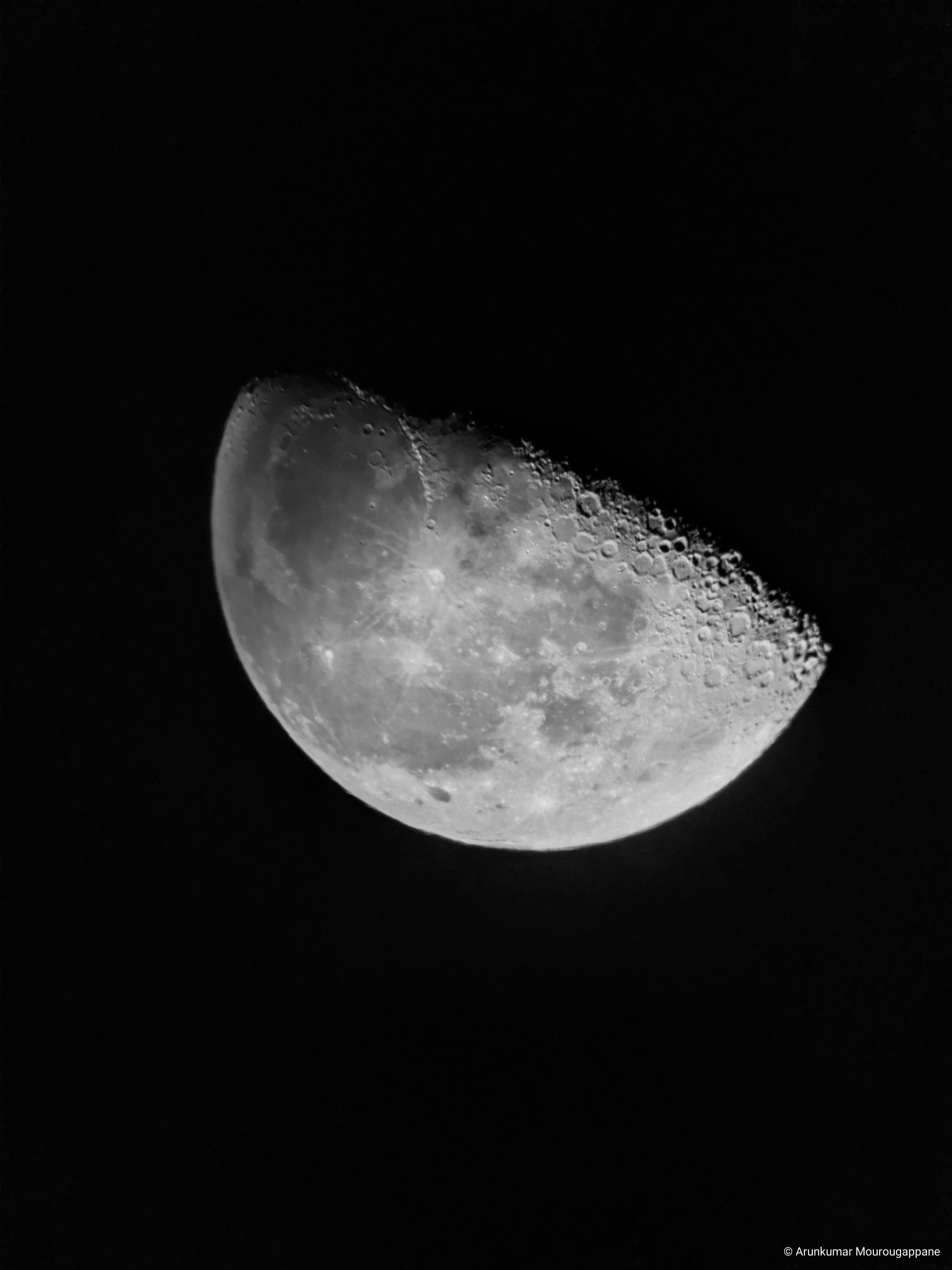 Arunkumar Mourougappane Lunar Photography