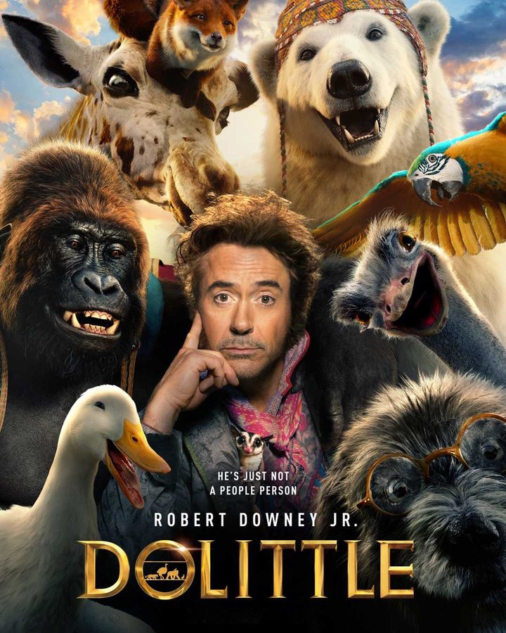 Dolittle [2020] [DVDR] [NTSC] [Latino]