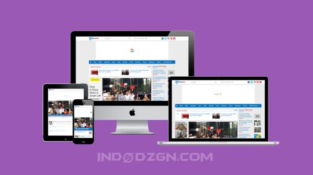 download template berita tribunnews, download template blogger tribunnexs premium gratis, template situs berita blogger