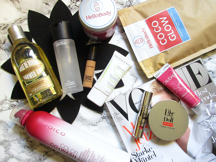 Beauty Favoriten Oktober - Bioderma, Caudalie, HelloBody, Joico, MAC, L´Occitane, PUPA Milano