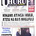 UHONDO: MAGAZETI YA LEO TANZANIA NA NJE MEI 28, 2018