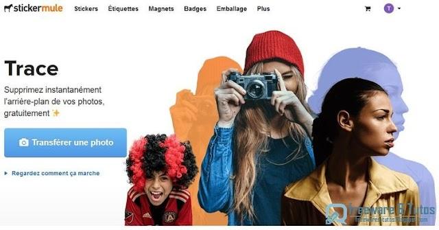Trace : un service en ligne pour supprimer l'arrière plan d'une photo