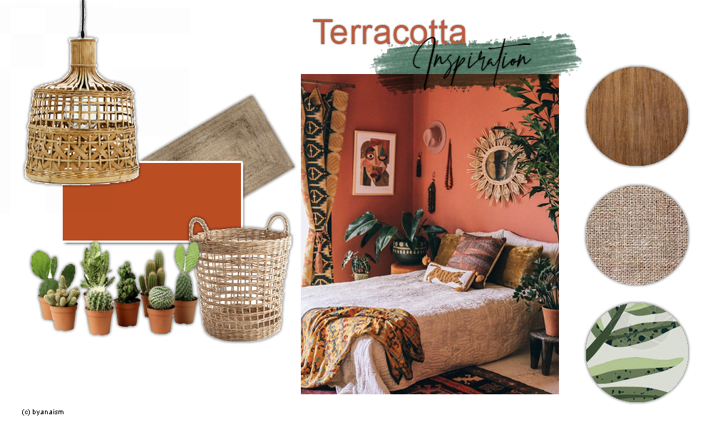 terracotta décoration
