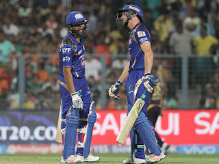 Rohit Sharma 84* - KKR vs MI 5th Match IPL 2016 Highlights