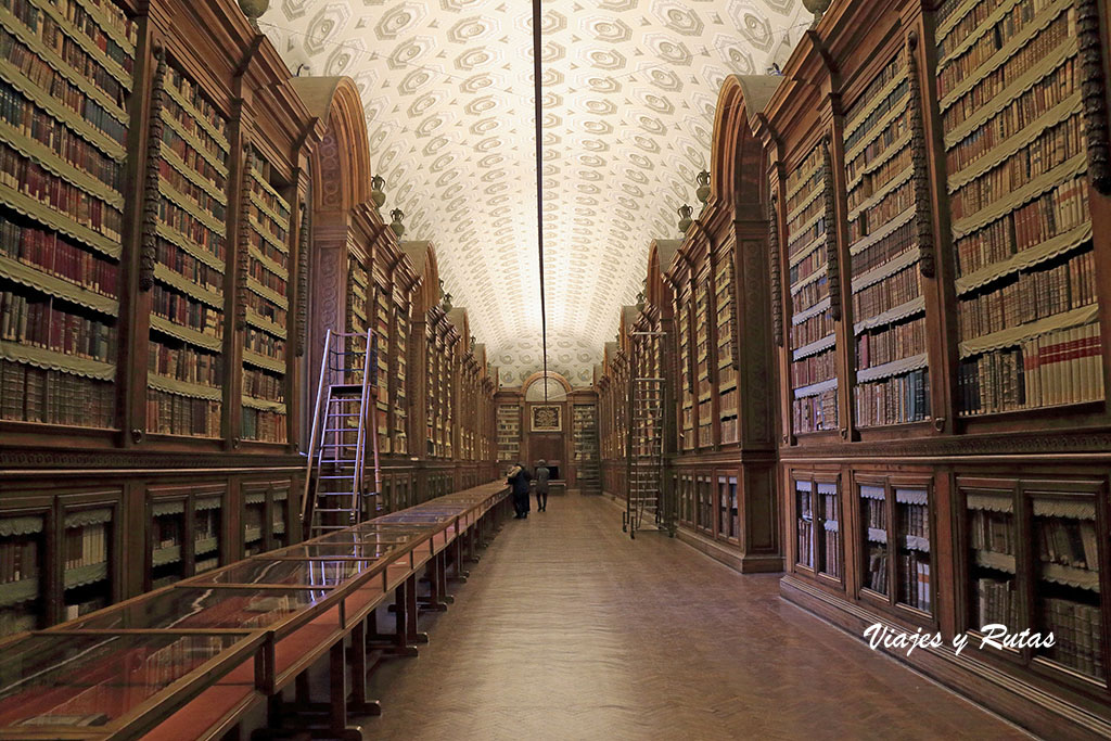 La Biblioteca palatina de Parma
