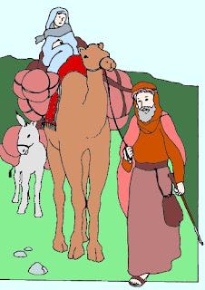 Abramo e Sara in cammino verso Canaan