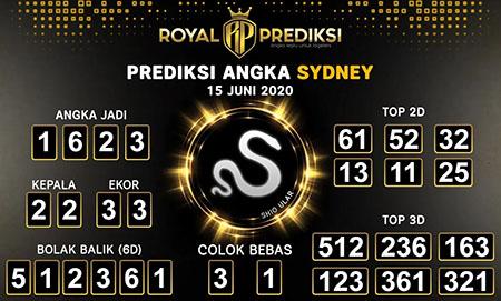 Prediksi Togel Sydney Senin 15 Juni 2020 - Royal Prediksi